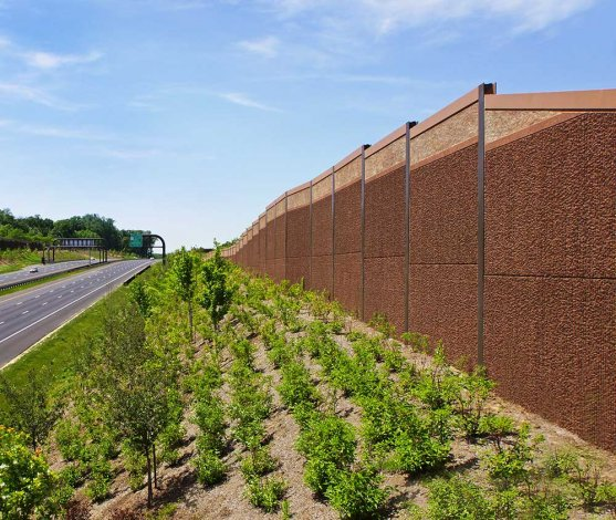 Precast Concrete Sound Walls | Highway Sound Barriers | Easi-Set